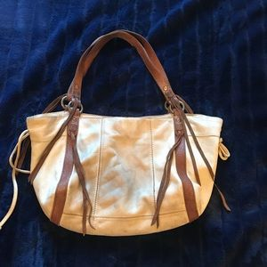 Lucky Brand slouchy tote